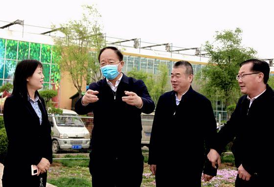省人防办党组书记、主任贾宏伟调研指导鹤壁人防工作