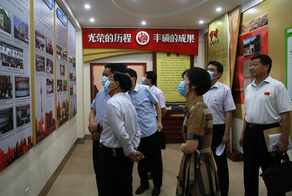 省平安建设考评组对河南省审计厅2019年度平安建设工作进行实地考评