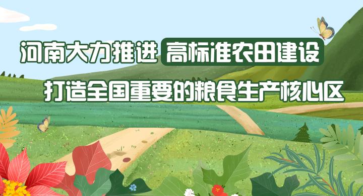 图解:河南大力推进高标准农田建设 打造全国重要的粮食生产核心区