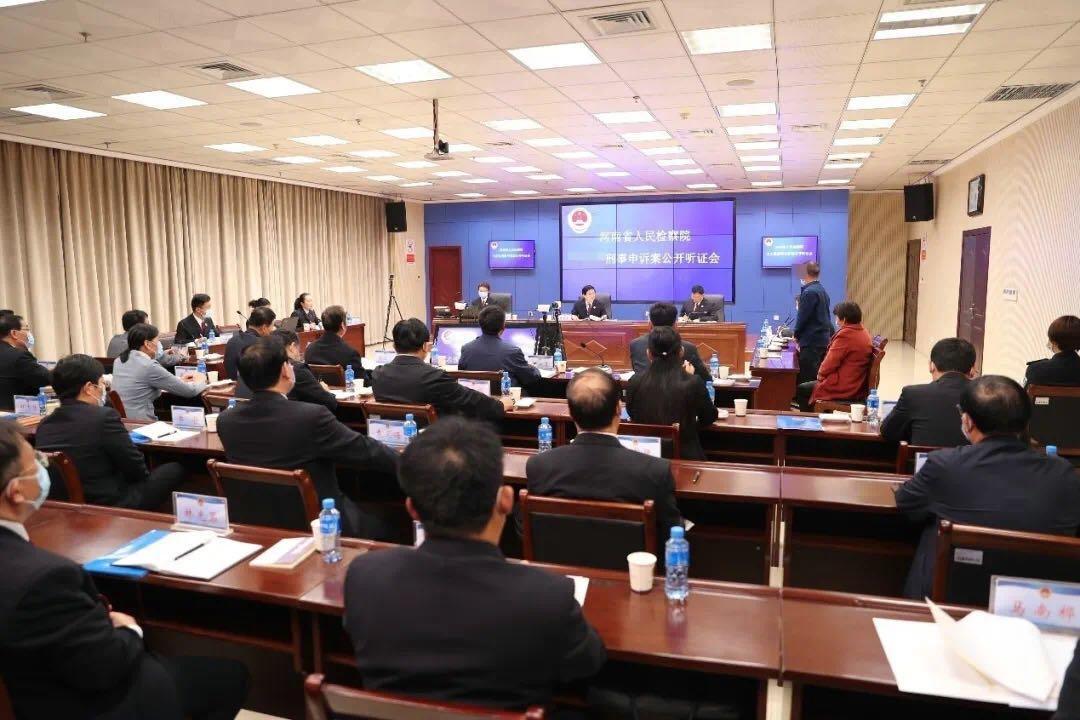 商丘市司法局选派两名人民监督员参加 省人民检察院案件公开听证活动