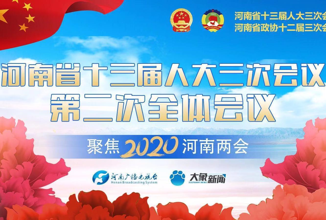 回看:河南省十三届人大三次会议第二次全体会议