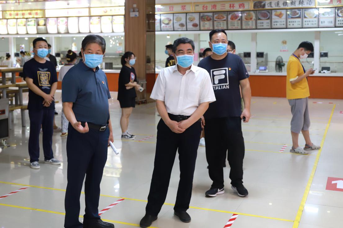 省教育厅副厅长陈垠亭到部分高校督导检查 疫情防控和灾后重建工作