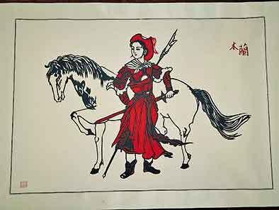 """央媒看河南丨木兰之乡盛产""""花木兰"""",她们的作品被当作国礼"""
