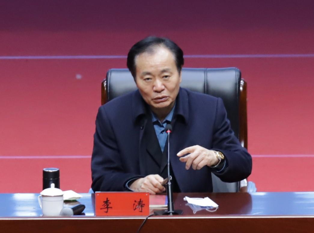 省工業和信息化廳黨組書記、廳長李濤<br>赴澠池縣做專題輔導講座