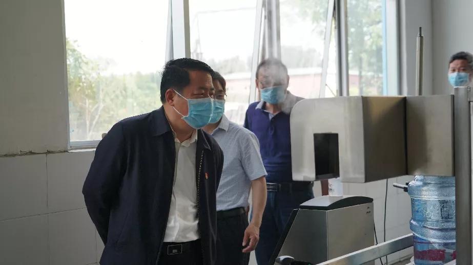 王仲田到中牟调研黄河流域生态环境保护工作