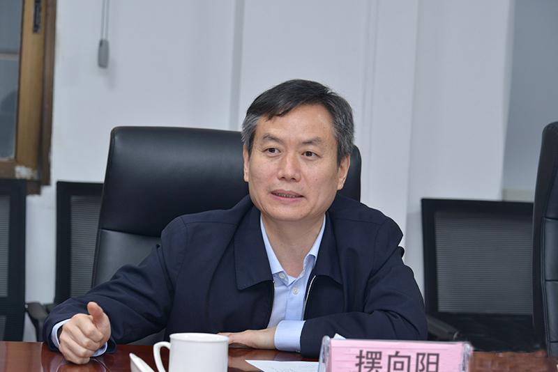 马健厅长与商丘市委书记李国胜市长摆向阳一行座谈交流