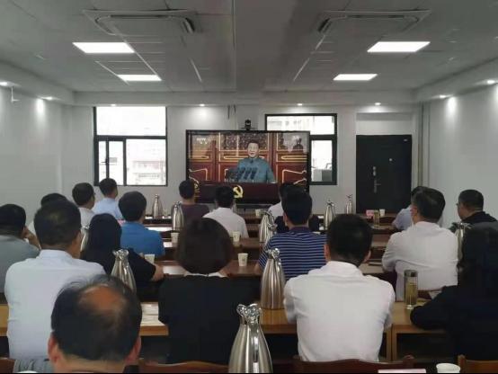 省科技厅组织收看庆祝中国共产党成立100周年大会直播