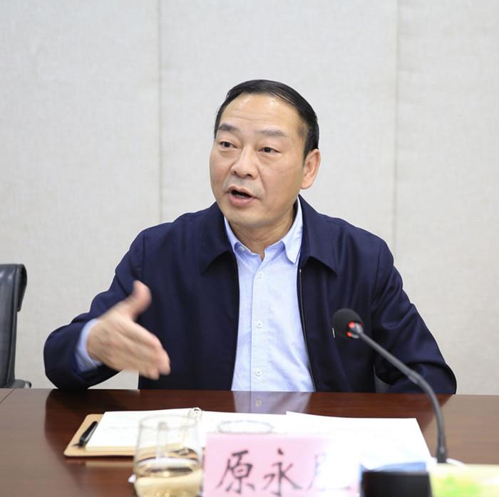 """图/文:原永胜强调全面推进我省""""林长制"""""""