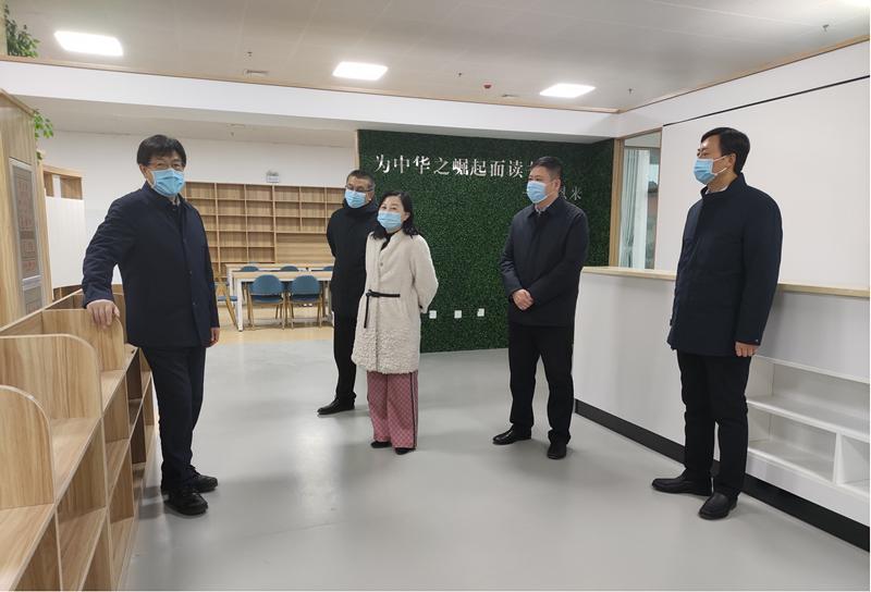 省教育厅厅长郑邦山调研我省学校寒假疫情防控工作