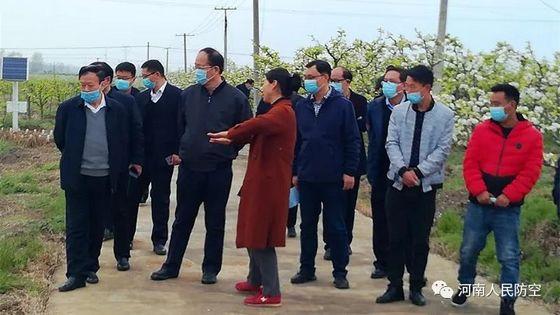 省人防办党组书记、主任贾宏伟调研考察南阳乡村产业发展