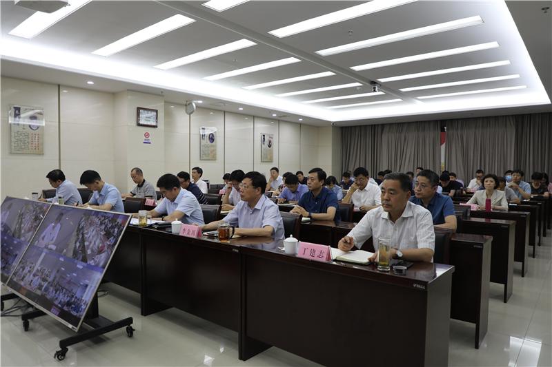 2021年全省教育系统安全管理工作视频会议召开