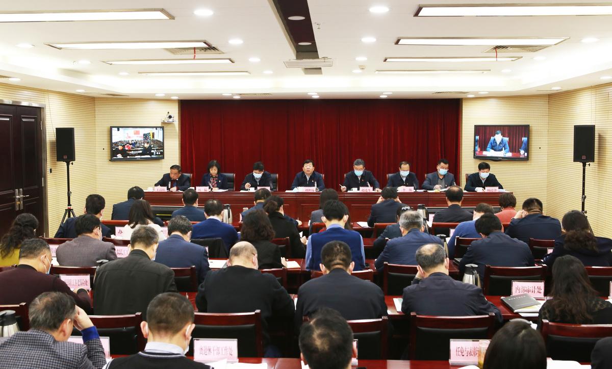 省廳召開全省人社系統黨風廉政建設工作視頻會議