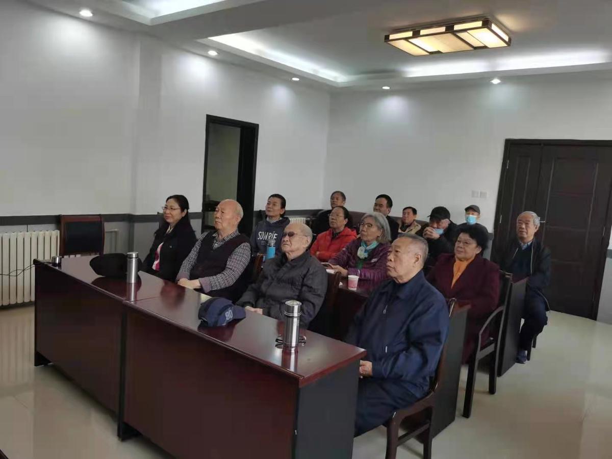 省民政厅组织离退休干部收看党史学习教育网上专题报告会