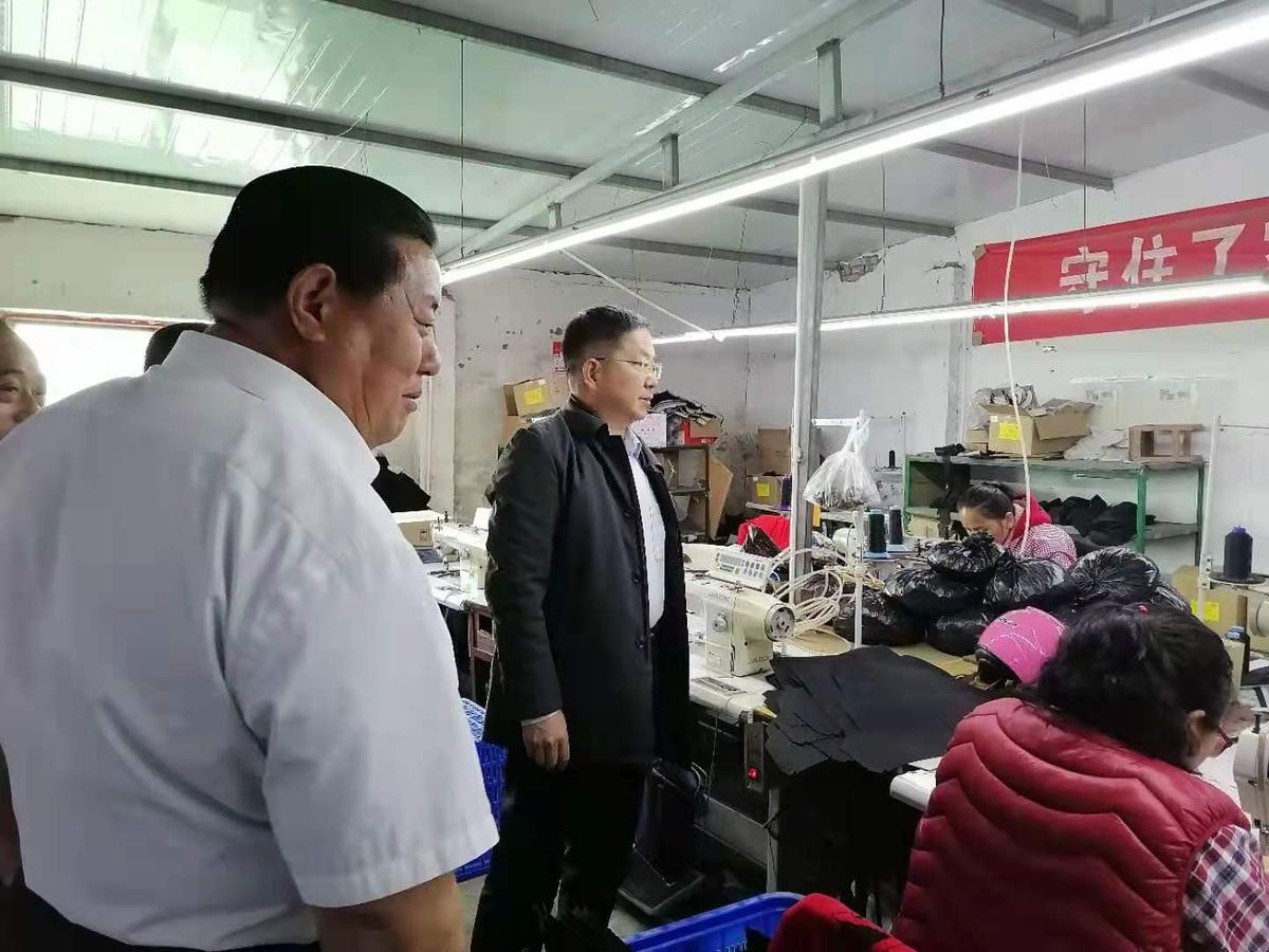 省发展改革委一级巡视员郑俊峰带队赴兰考县付楼村开展帮扶工作调研