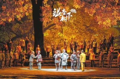 献礼建党100周年 民族歌剧《银杏树下》首次与观众见面