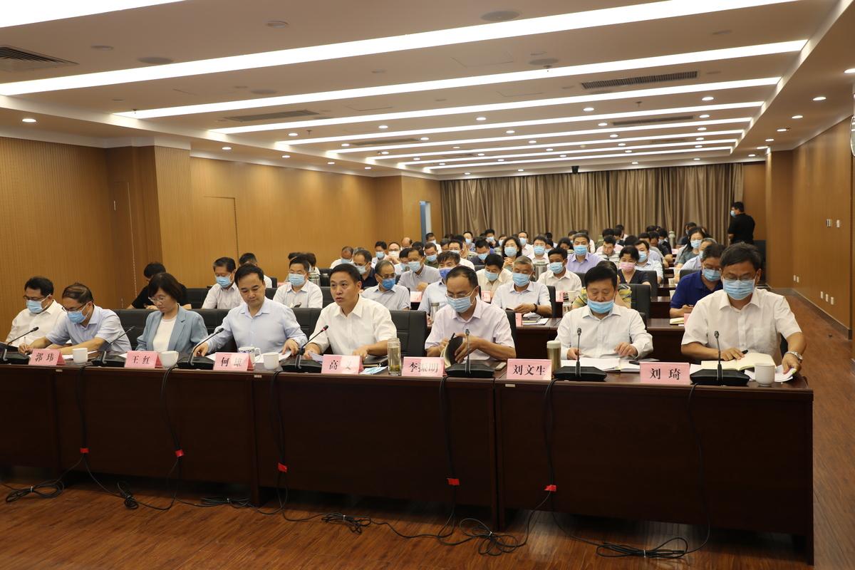河南省發展改革委召開上半年全省發展改革工作視頻會議