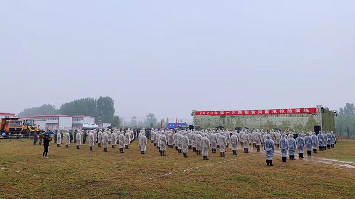 厉兵秣马,郑州以练为战夯筑安全屏障