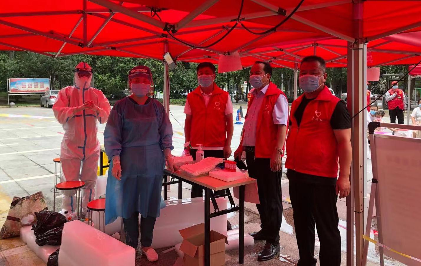 省市场监管局闻令而动<br>组织党员干部参加疫情联防联控阻击战
