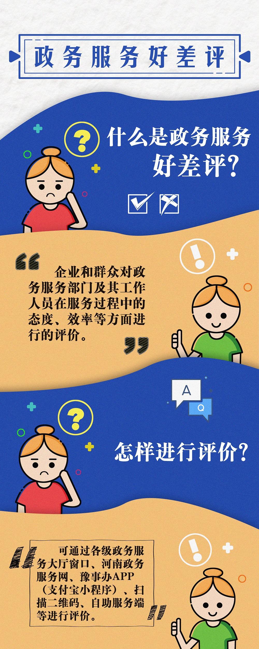 """服务好与差 请您来评价!河南建成全省统一的政务服务""""好差评""""系统"""