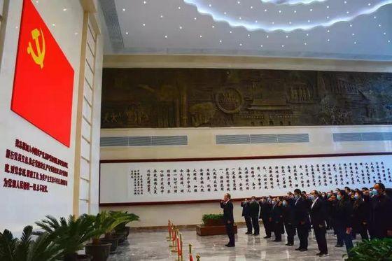 省人防办党员干部赴河南省廉政文化教育中心接受廉政警示教育