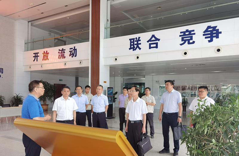 省地方金融監管局張云定副局長赴洛陽開展企業上市工作調研活動