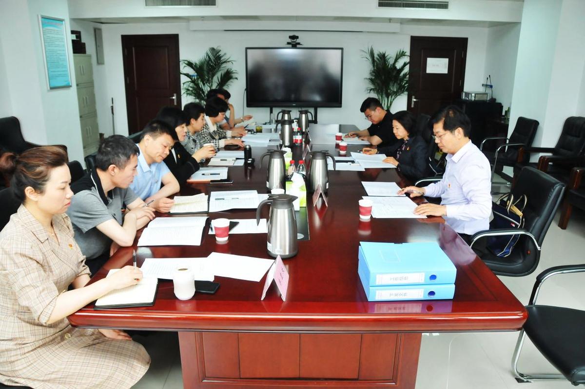 省委党史学习教育第九巡回指导组到我厅调研指导