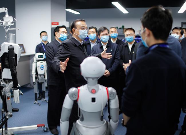 李克強考察鄭州中原科技城:創新突破一定要在科學基礎方面打好基礎