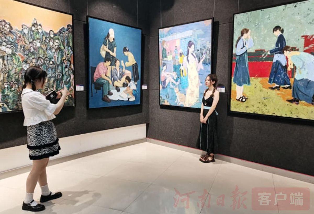 """来看看郑州美术系学生奉上的""""视觉盛宴"""""""