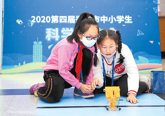 郑州市中小学生科学运动会在郑州科技馆开幕