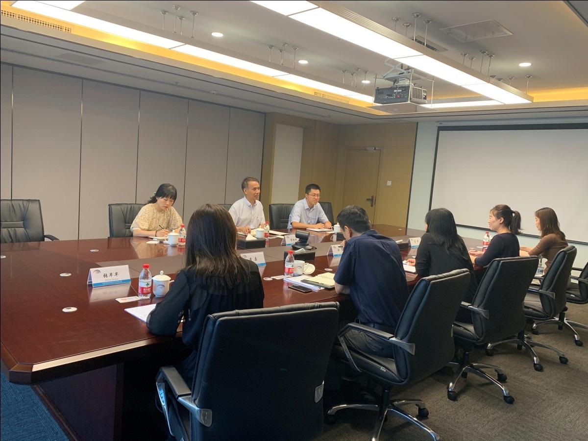 省金融局副局长李拴成带队到融资租赁企业实地调研
