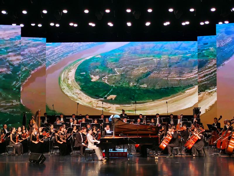 每一个音符都有中秋的花香,交响音乐会《黄河回响》在郑亮相