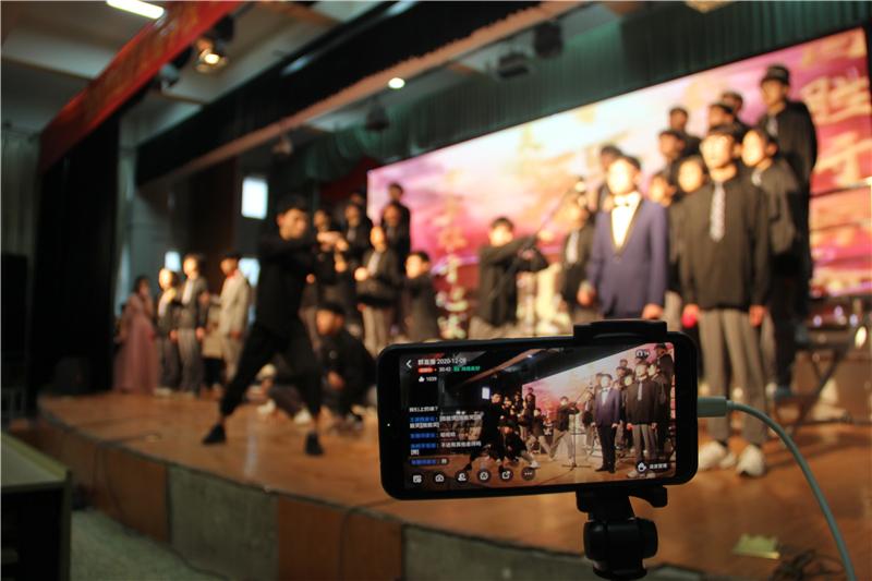 郑州市经济贸易学校——采用线上同步直播的方式对此次比赛进行宣传.jpg