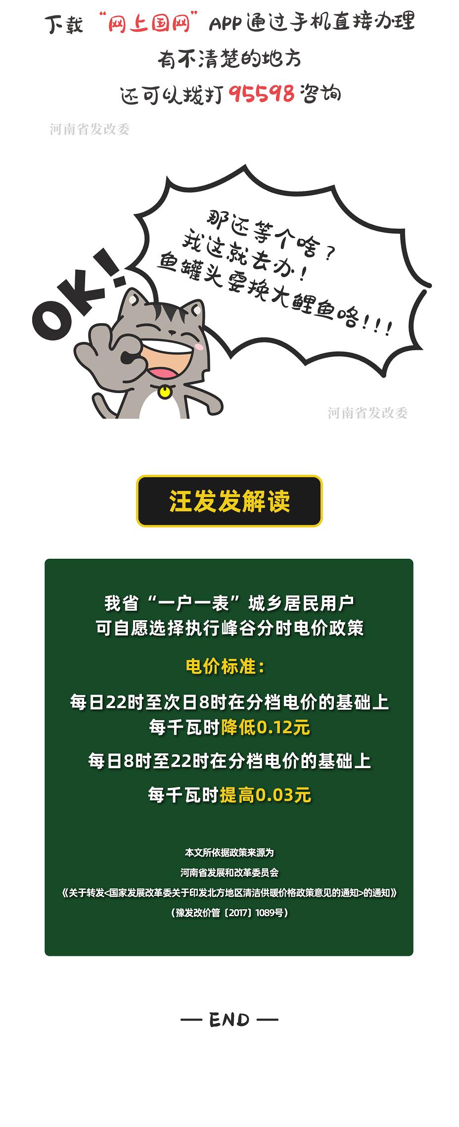 漫画 | 省发展改革委拍了拍你,上班族这样交电费更省钱!