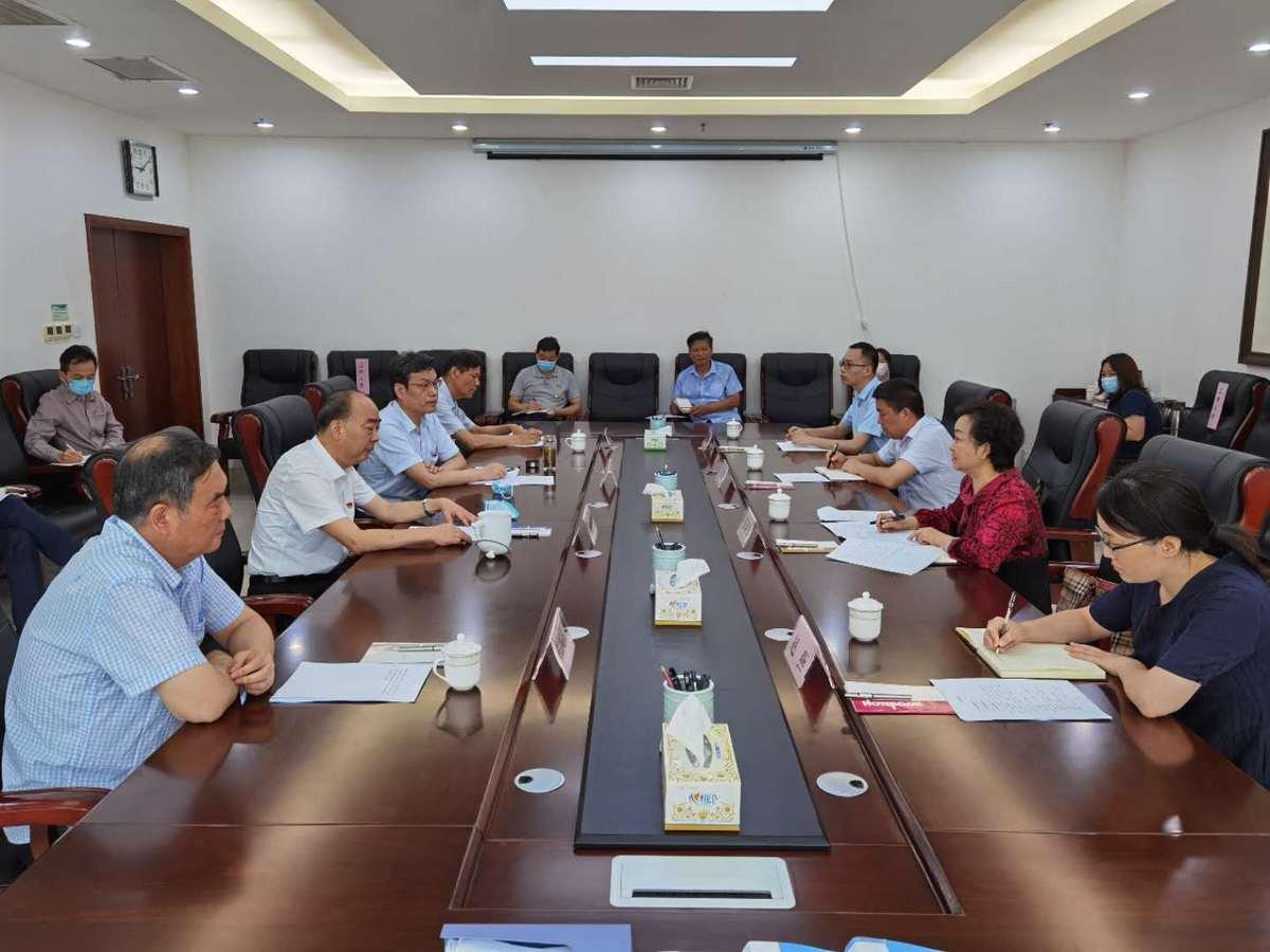 省委老干部局对我局离退休干部工作开展调研活动