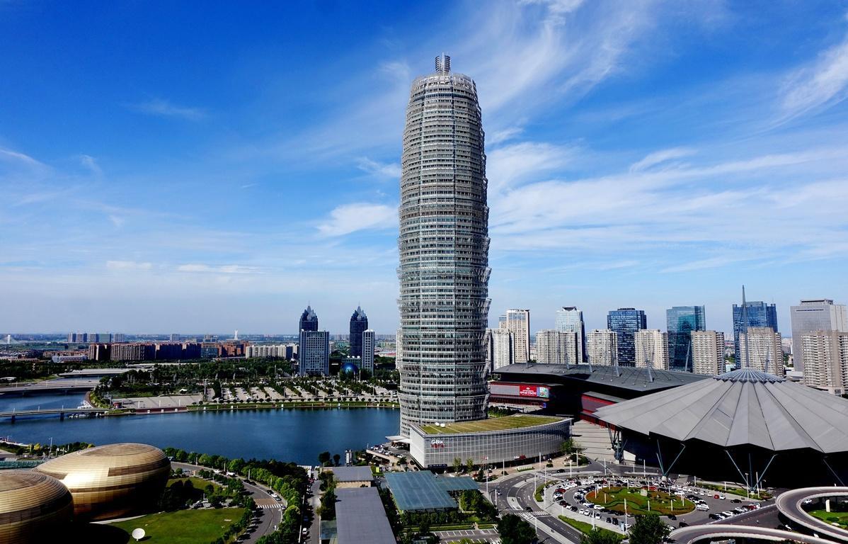 Zhengdong New District in Zhengzhou