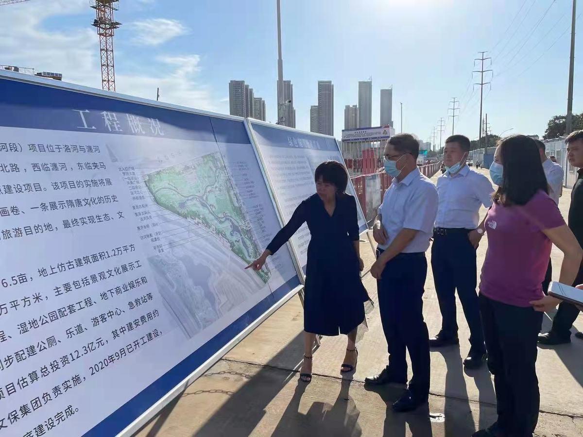 郭玮副主任调研国家呼吸区域医疗中心和大运河文化保护传承利用重点项目