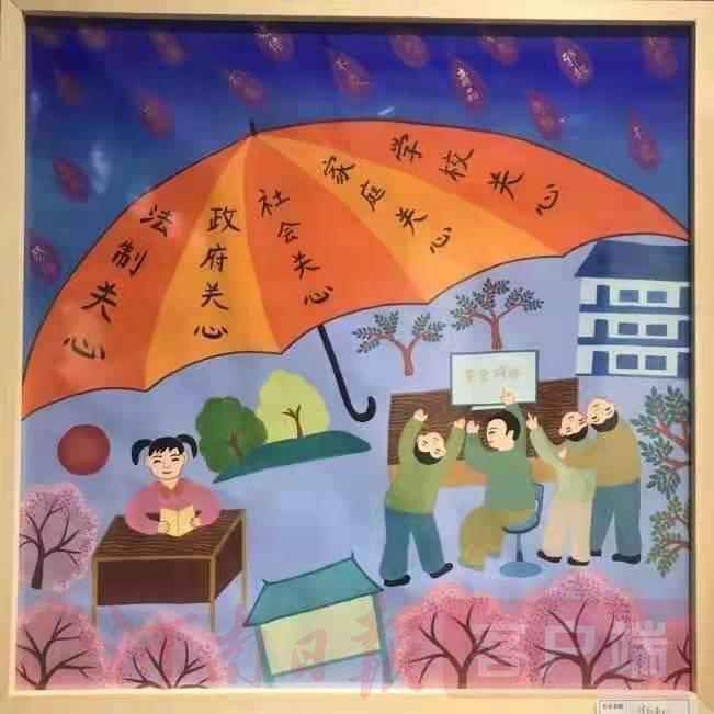 """舞阳:农民画""""护苗""""茁壮成长"""