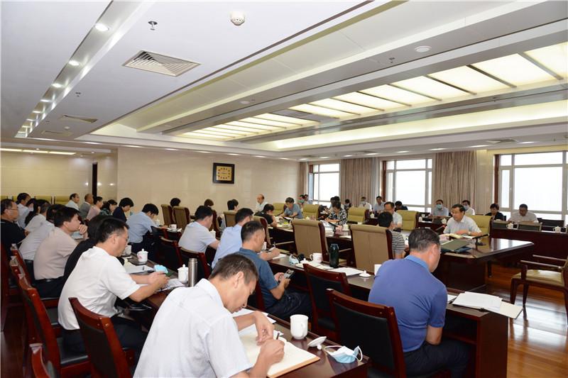 省文化和旅游厅召开精神文明建设领导小组会议
