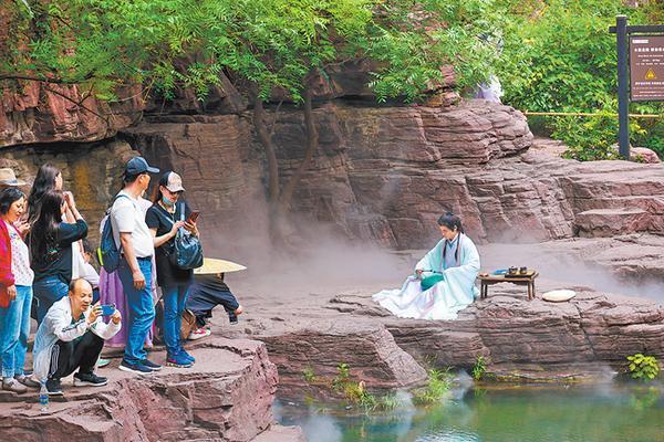 Beautiful Scenery of the Yuntai Mountain
