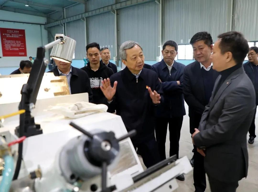尚朝阳在调研工业企业复工复产工作时强调 稳企业增动能促发展 确保一季度实现良好开局