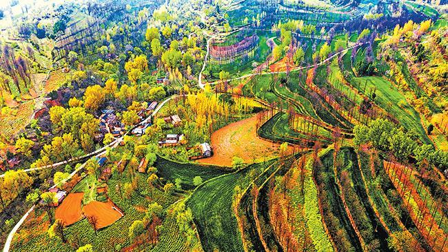 Beautiful Mountainous Area