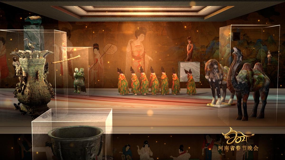 """唐宫夜宴》获得全国首届高新视频创新应用大赛""""一等奖"""""""