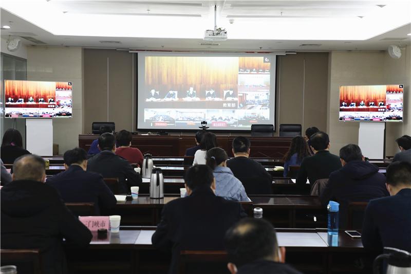 省教育厅总督学李金川在教育部2021年教育督导视频部署会上作典型发言
