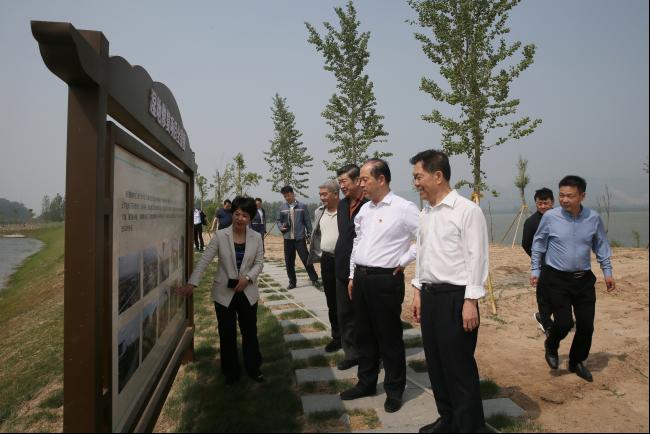 省政府参事调研我省黄河流域生态环境建设情况