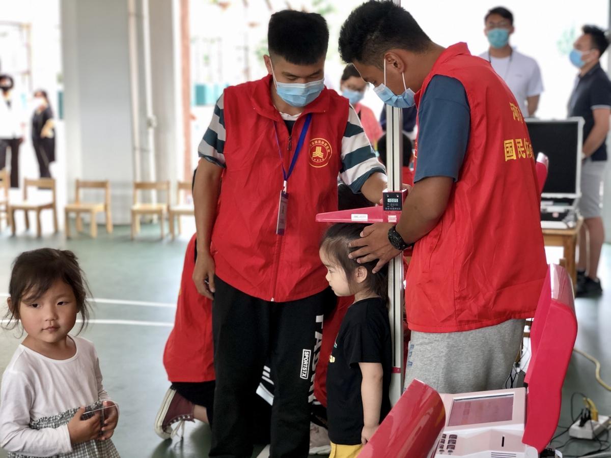 全国第五次国民体质监测工作在河南三地抽样