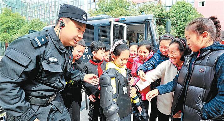 河南省中小学生安全教育日宣传活动举行