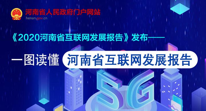 一图读懂丨2020河南省互联网发展报告