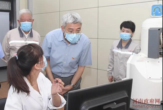 省长尹弘到济源调研钢铁业转型升级工作