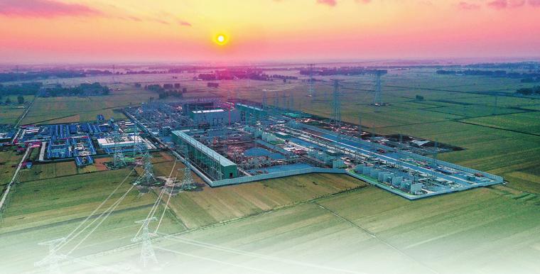 青電入豫鋪就世界首條清潔能源大通道 架起電力天路