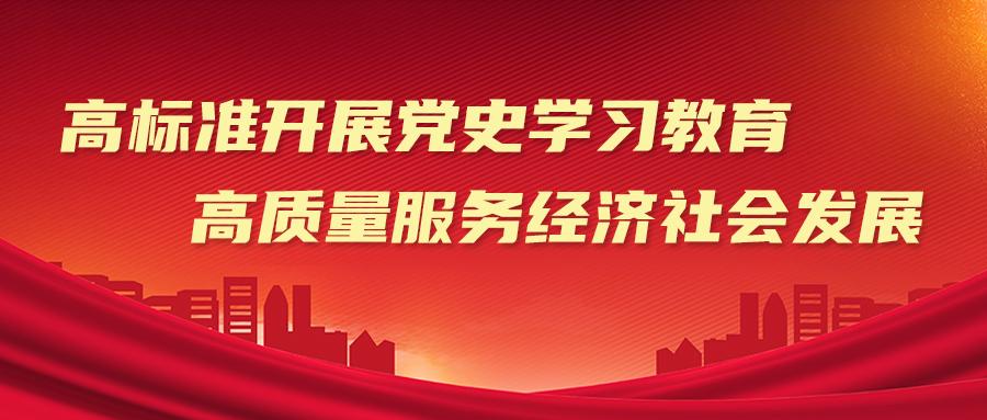 宋殿宇发表署名文章:高标准开展党史学习教育 高质量服务经济社会发展